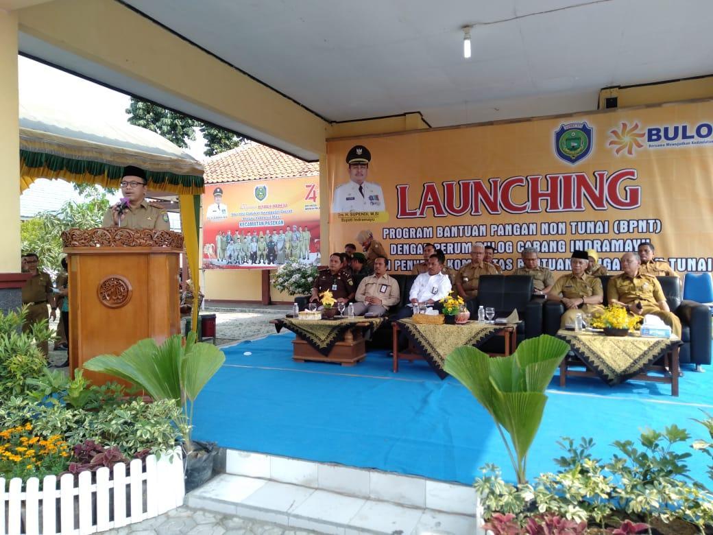 Sekretaris Daerah (Sekda) Kabupaten Indramayu. Drs. Rinto Waluyo, M.Pd