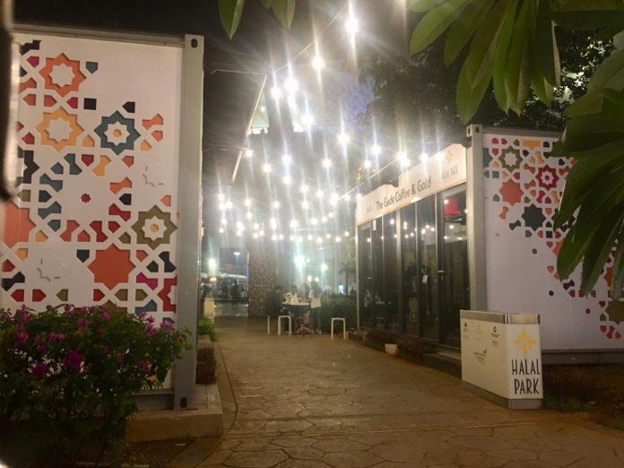 Halal Park di Bandara Soetta
