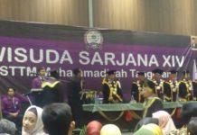 ST Teknologi Mutu Muhammadiyah Tangerang Mewisuda 107 Mahasiswa