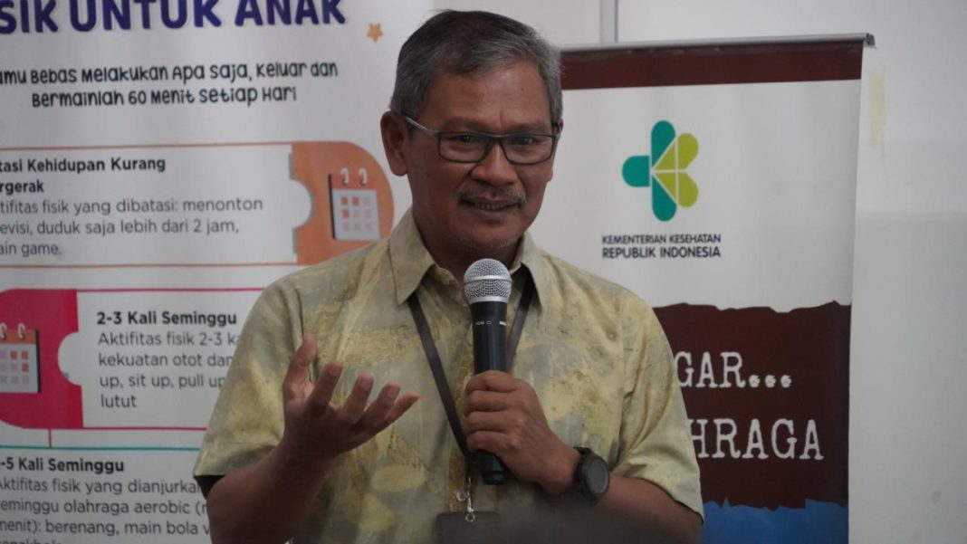 Sekretaris Ditjen Pencegahan dan Pengendalian Penyakit Kemenkes Achmad Yurianto