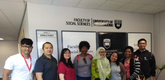Dr Nurhira, Usai Pertahankan Proposal Disertasidi University of Wollongong