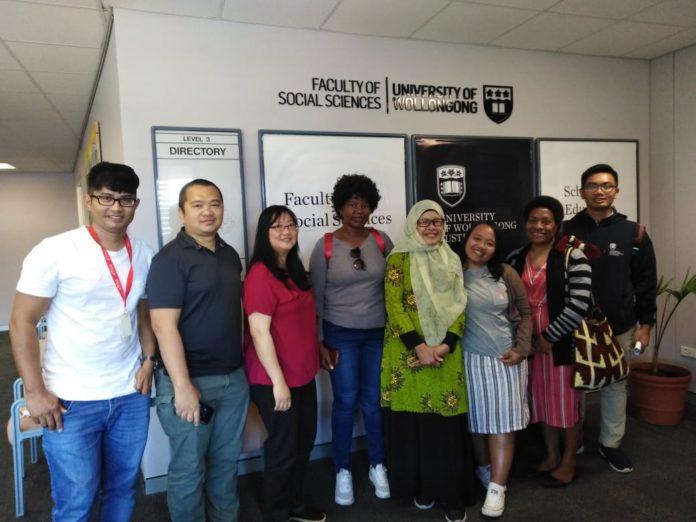 Dr Nurhira, Usai Pertahankan Proposal Disertasidi University of Wollongong