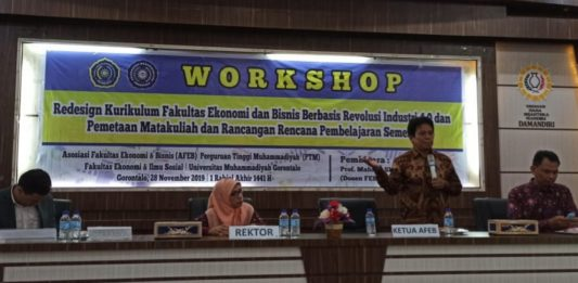 AFEB PTM Gelar Workshop Kurikulum di Gorontalo