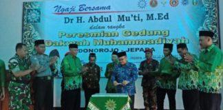 Abdul Mu'ti Resmikan Gedung Muhammadiyah Donorojo