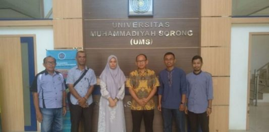 LIPI Kunjungi Universitas Muhammadiyah Sorong