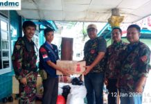 Pemuda Muhammadiyah Muara Enim Salurkan Bantuan Masyarakat Untuk Bencana Alam di Lahat