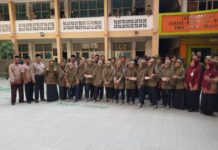 Kelas PK SMP Muhammadiyah 1 Simpon Kunjungi SMA Muhammadiyah PK Kota Barat Solo