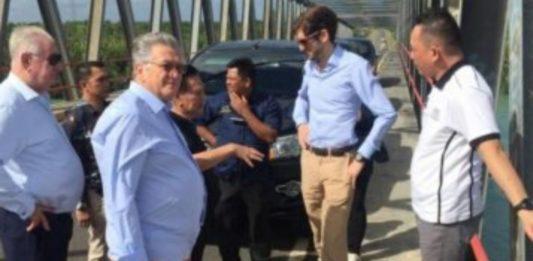 Presiden H2O Tinjau Lokasi Balap Perahu Dunia di Babel