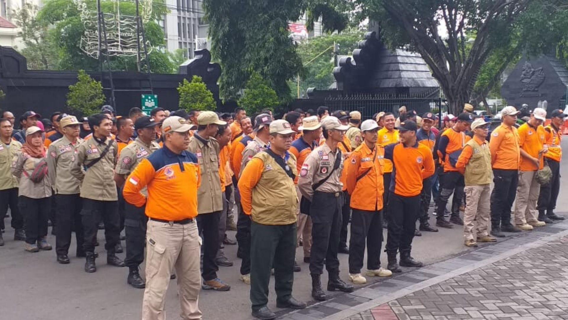 Jawa Tengah Kirim Relawan ke Jakarta dan Bogor