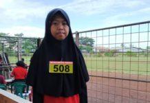 Santriwati PP Darul Arqom Juara 1 Lari 1500 M POPDA Purworejo
