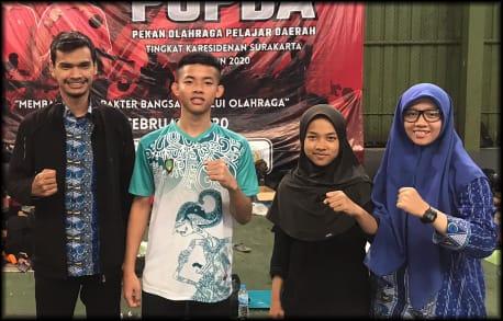 Pesilat SMP Muhammadiyah PK Wakili Solo ke Jateng