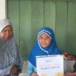 Beasiswa Mentari Untuk 15 Anak-anak Di Sekitar PRM Manggarai