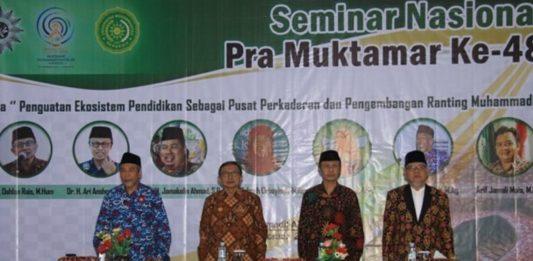UM Bengkulu Gelar Seminar Nasional Pra Muktamar Ke-48 Muhammadiyah
