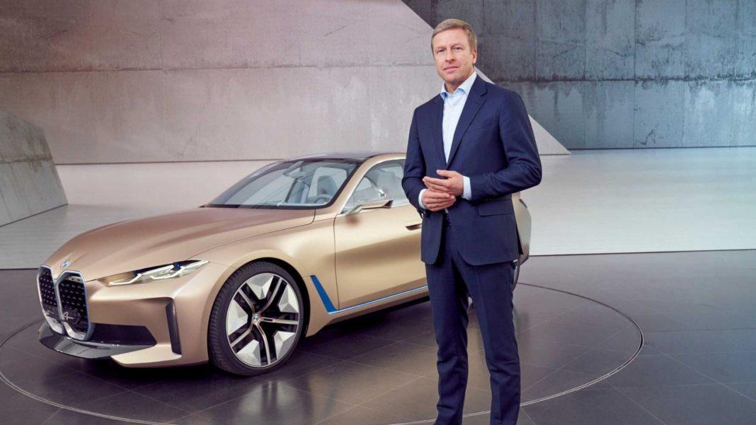 BMW Concept i4 Tetap Dengan Moncong Modis