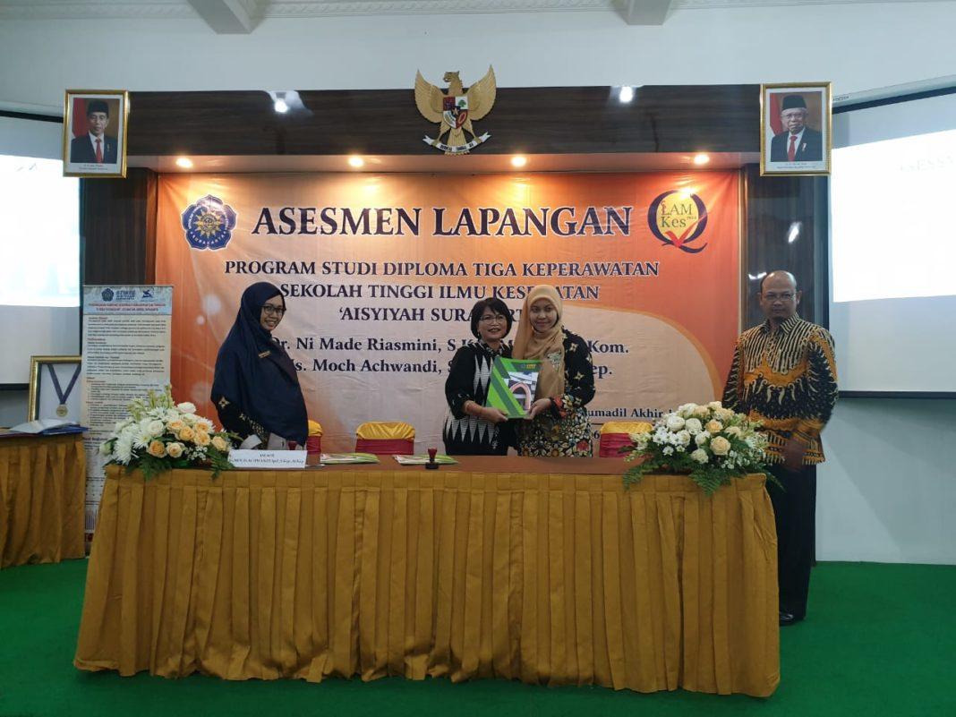 Prodi D3 Keperawatan STIKES Aisyiyah Surakarta Dapat Akreditasi A