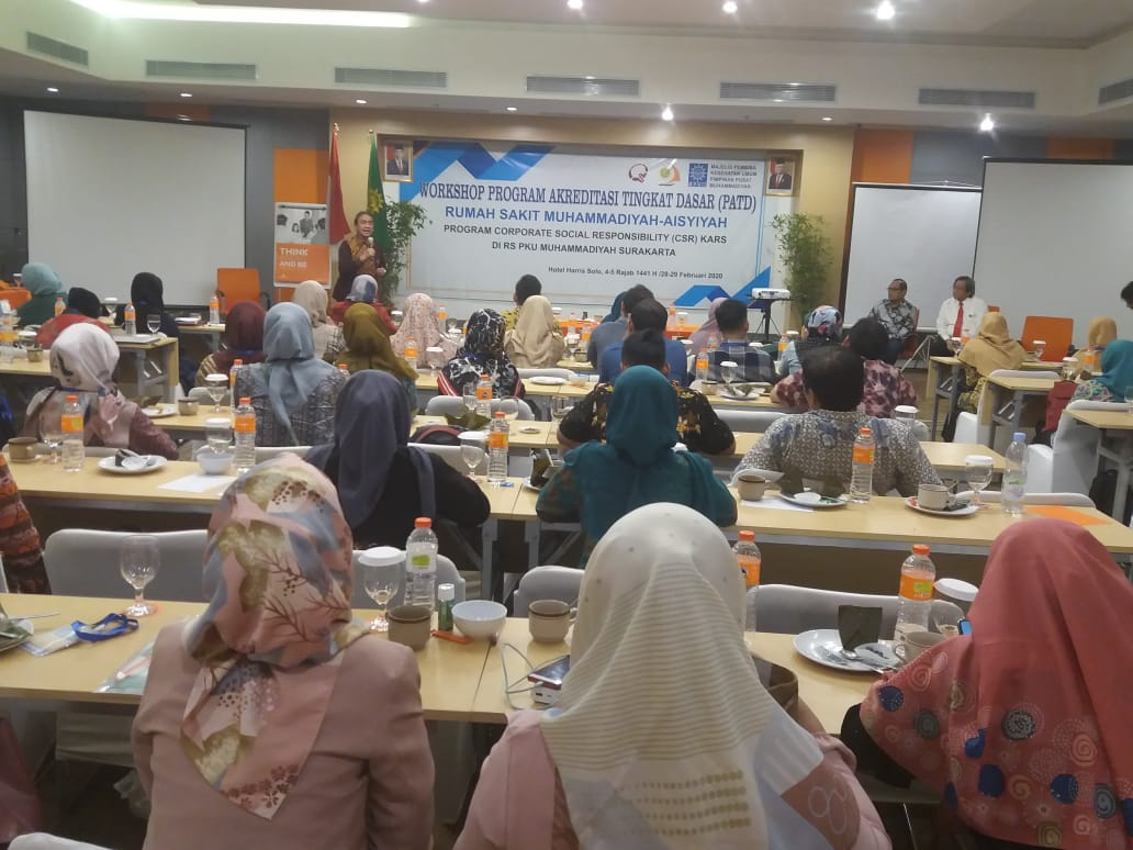 RS PKU Solo Gelar Workshop Akreditasi