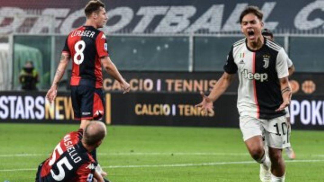 Juve Tundukkan Genoa