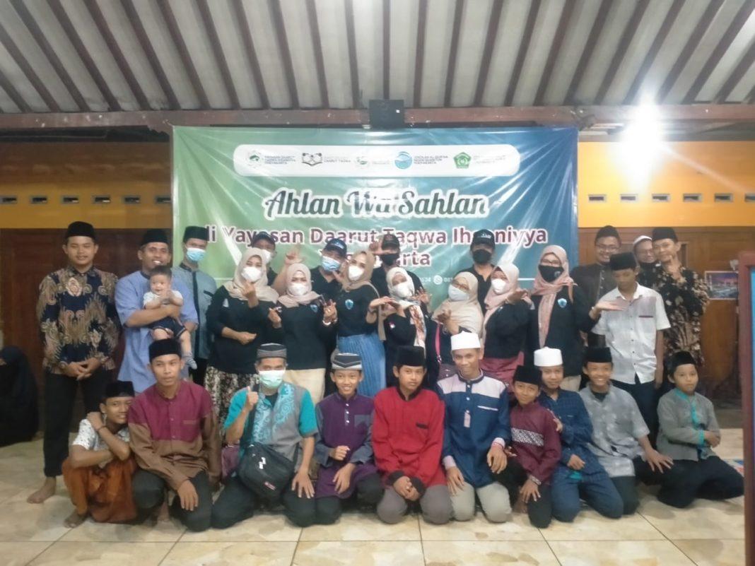 Baksos AWS di Panti asuhan Darut Taqwa, Jarakan.Sendangrejo, Minggir pada Kamis 9 September 2021
