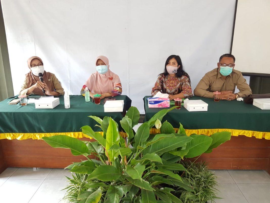 Rury Tyas P SE, Sumaryatin S.Sos dan Nur Hidayat selaku anggota DPRD Sleman dari Dapil 3 Ngemplak, Kalasan Prambanan.